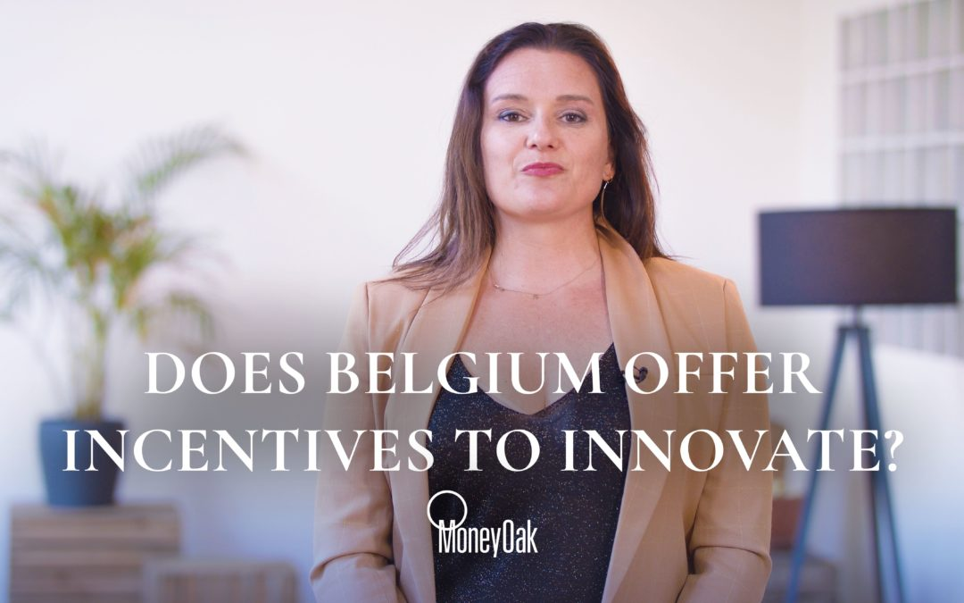 Does Belgium offer tax incentives for innovation?